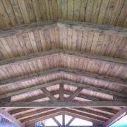 Montaje de pérgolas de madera en Sevilla